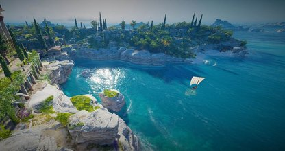 Screenshot aus dem Game Assassin's Creed Odyssey